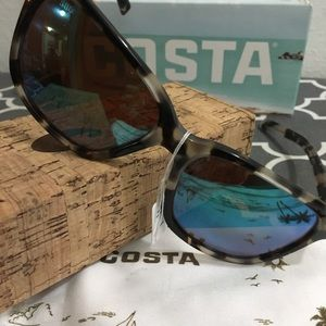 173752ac88 Costa Accessories - Costa May Shiny Tiger Cowrie Green Sunglasses